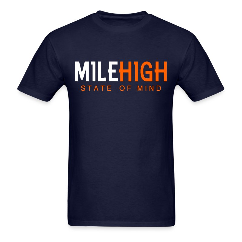 VICTRS Mile High State of Mind Shirt - Men's T-Shirt