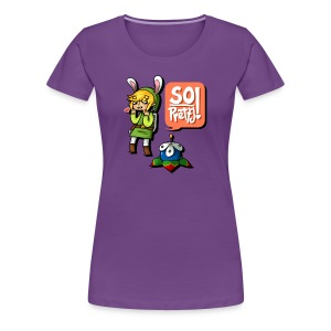 Women's: So Pretty! - Women's Premium T-Shirt