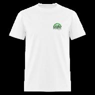 T-Shirts ~ Men's T-Shirt ~ Northern WI NORML Faded Green Logo Tshirt