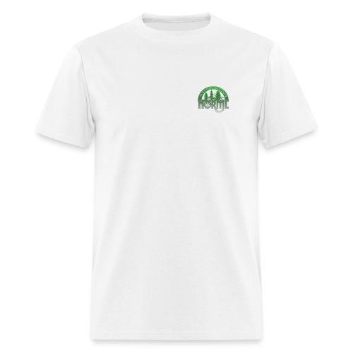 Northern WI NORML Faded Green Logo Tshirt - Men's T-Shirt
