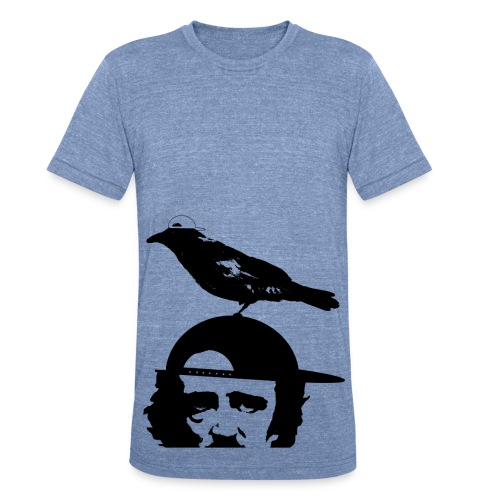 Edgar Allan Bro Understated tri-color - Unisex Tri-Blend T-Shirt