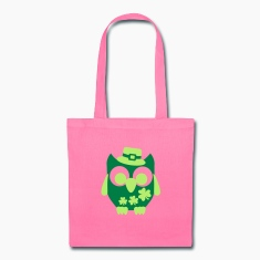 Owl Shamrock Bags & backpacks