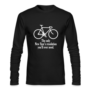 New Year's Resolution - Men's Long Sleeve T-Shirt by Next Level