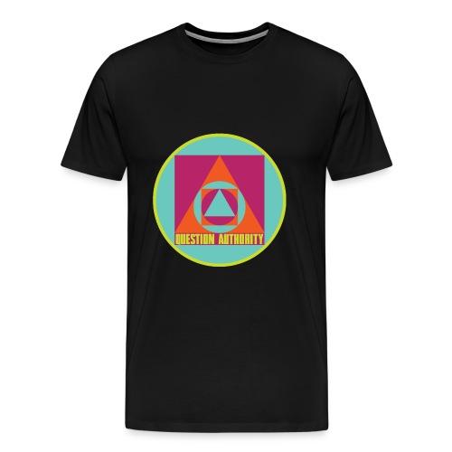 Question Authority - Men's Premium T-Shirt