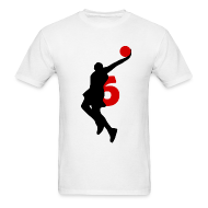 T-Shirts ~ Men's T-Shirt ~ James SUPERSTAR #6 Heat Shirt