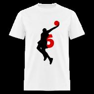T-Shirts ~ Men's T-Shirt ~ James SUPERSTAR #6 Heat Shirt