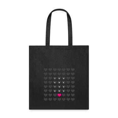You are the one - valentine's day Bags & backpacks
