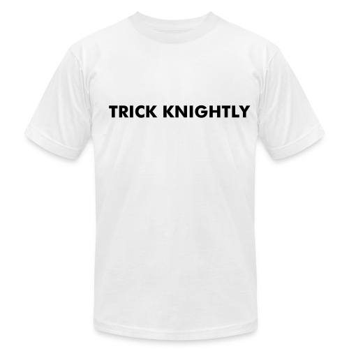 TRICK KNIGHTLY - Men's Fine Jersey T-Shirt