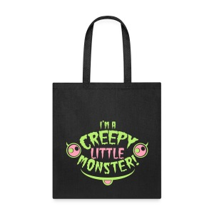 creepy tote - Tote Bag