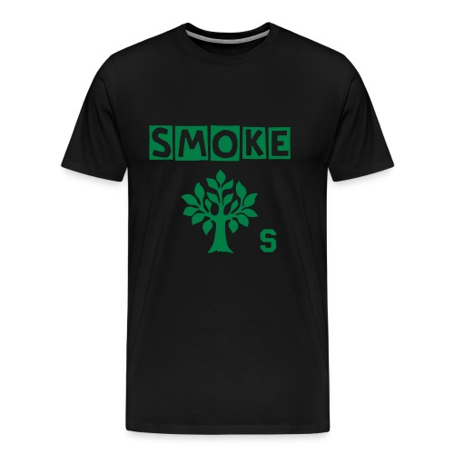 Smoke Trees Tee - Men's Premium T-Shirt