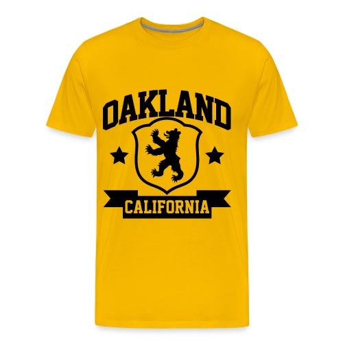 OAKLAND TEE - Men's Premium T-Shirt