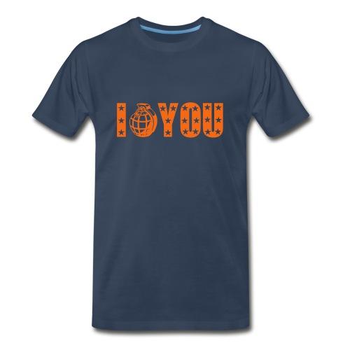 Offensive T-shirt I Hate You - Men's Premium T-Shirt