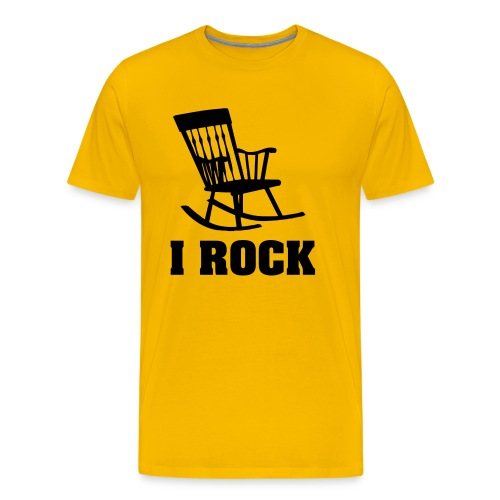 Cool T-shirt I Rock! - Men's Premium T-Shirt