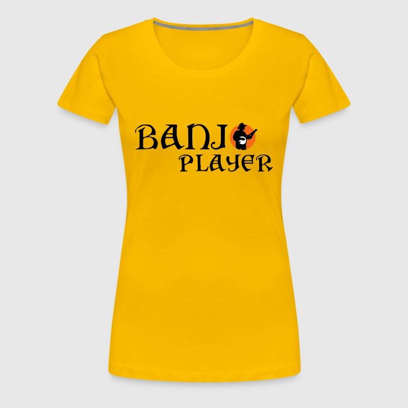 Banjo Player 122013 A 3c T Shirt Spreadshirt