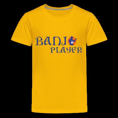 Banjo Player 122013 A 3c Kids 39 Shirts T Shirt Spreadshirt