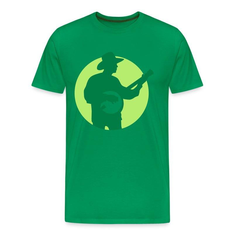 Banjo Spieler 122013 A 2c T Shirt Spreadshirt