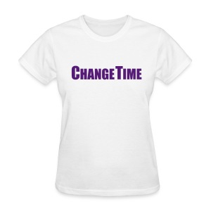 Woman CHANGETIME Standard T-Shirt White - Women's T-Shirt