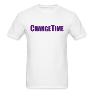 Man CHANGETIME Standard T-Shirt White - Men's T-Shirt