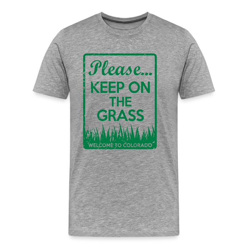 Keep on the Grass Colorado - Men's Premium T-Shirt