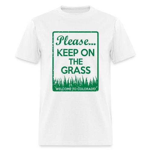 Keep on the Grass Colorado - Men's T-Shirt