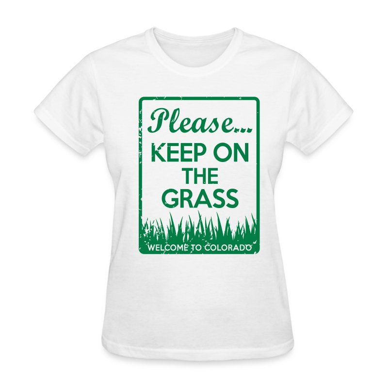 Keep on the Grass Colorado - Women's T-Shirt
