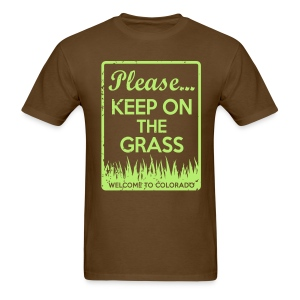 Keep on the Grass Colorado - Men's T-Shirt