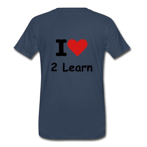 I Love 2 Teach, I Love 2 Learn - Men's Premium T-Shirt