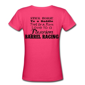 BR Passion 2 - Women's V-Neck T-Shirt