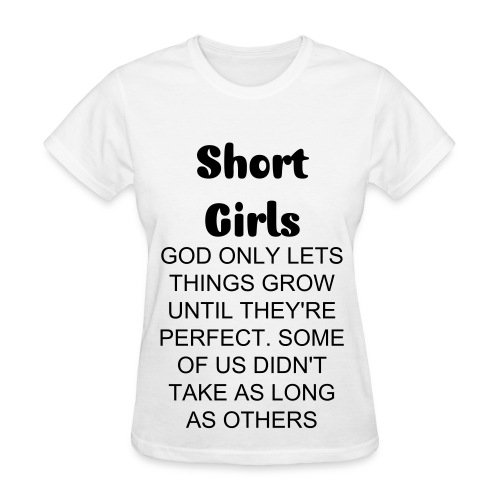 Short Girls T-shirt - God - Women's T-Shirt