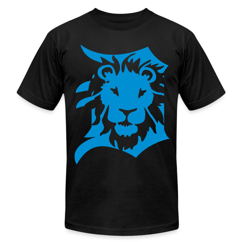 Detroit Lions - Men's T-Shirt by American Apparel