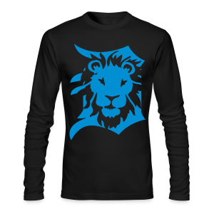 Detroit Lions - Men's Long Sleeve T-Shirt by Next Level