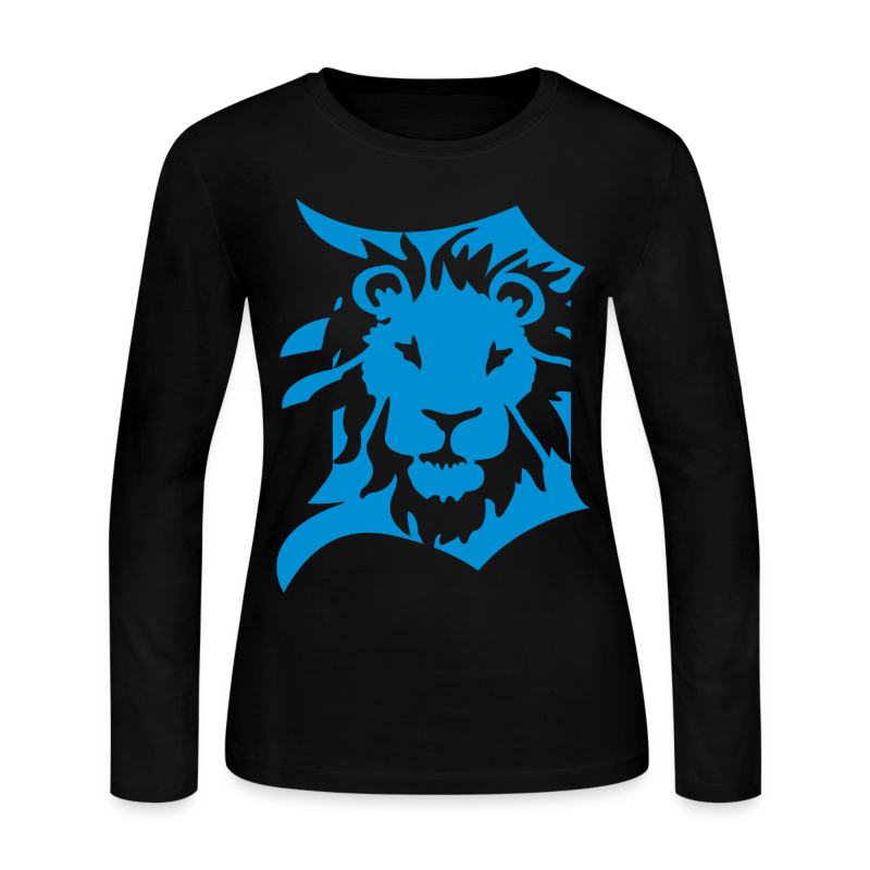 Detroit Lions - Women's Long Sleeve Jersey T-Shirt