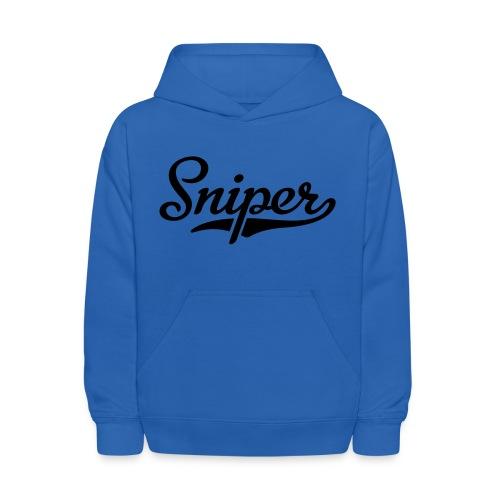 sniper hoodie - Kids' Hoodie
