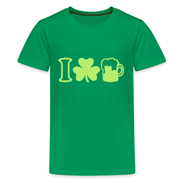 I love beer kids 39 shirts t shirt spreadshirt for I love beer t shirt