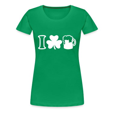I love beer women 39 s t shirts t shirt spreadshirt for I love beer t shirt