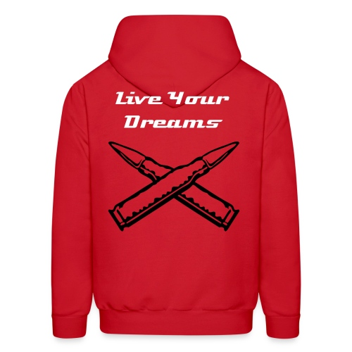 Sniper Bullets Dream - Men's Hoodie