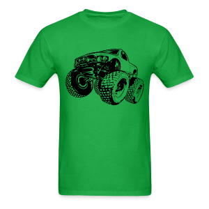 Monster Trophy Truck - Men's T-Shirt