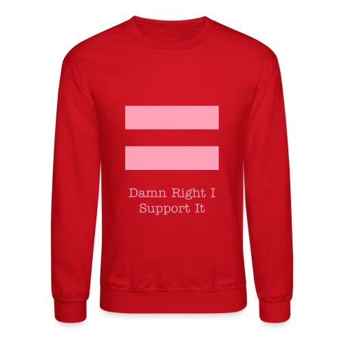 Equality Hoodie with lyrics - Crewneck Sweatshirt