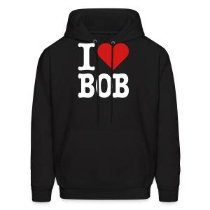 I Heart Bob - Men's Hoodie