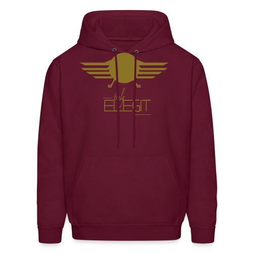 Truly Elegit Maroon/Gold Limited Edition - Men's Hoodie