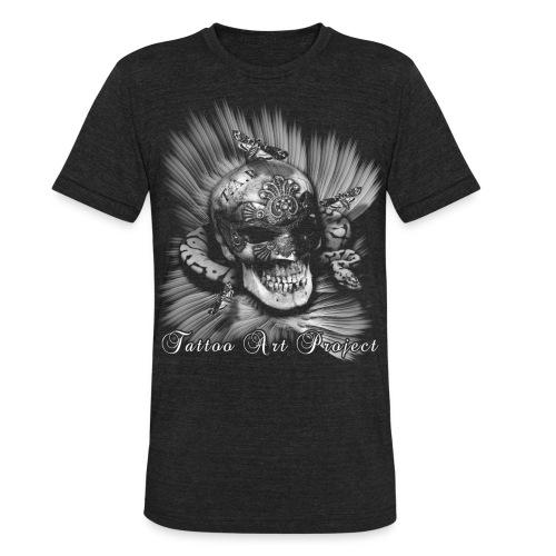 Venetian skull - Unisex Tri-Blend T-Shirt