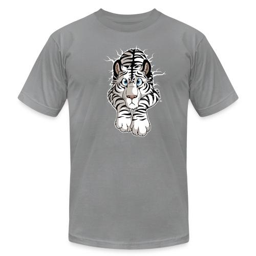STUCK White Tiger (front) - Men's Fine Jersey T-Shirt