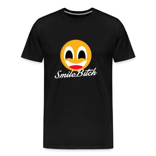 Smile Bitch Men's Tee - Men's Premium T-Shirt