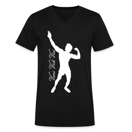 V-Neck T-Shirt Zyzz Veni Vidi Vici - Men's V-Neck T-Shirt by Canvas