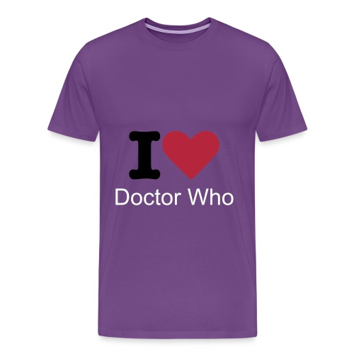 Doctor Who T-Shirt - Men's Premium T-Shirt