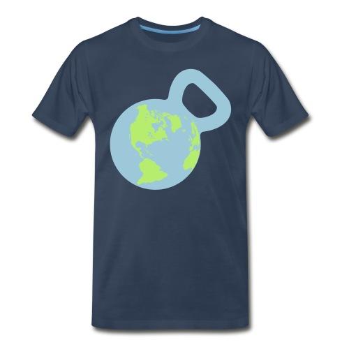 Kettlebell World Men's Premium Tee - Men's Premium T-Shirt