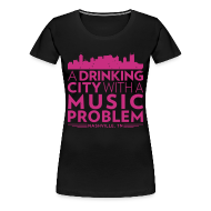 T-Shirts ~ Women's Premium T-Shirt ~ Welcome to Nashville