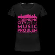 T-Shirts ~ Women's Premium T-Shirt ~ Welcome to Nashville