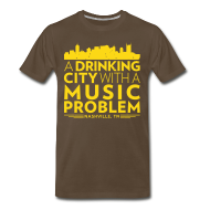 T-Shirts ~ Men's Premium T-Shirt ~ Welcome to Nashville