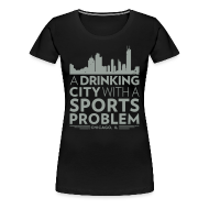 T-Shirts ~ Women's Premium T-Shirt ~ Welcome to Chicago